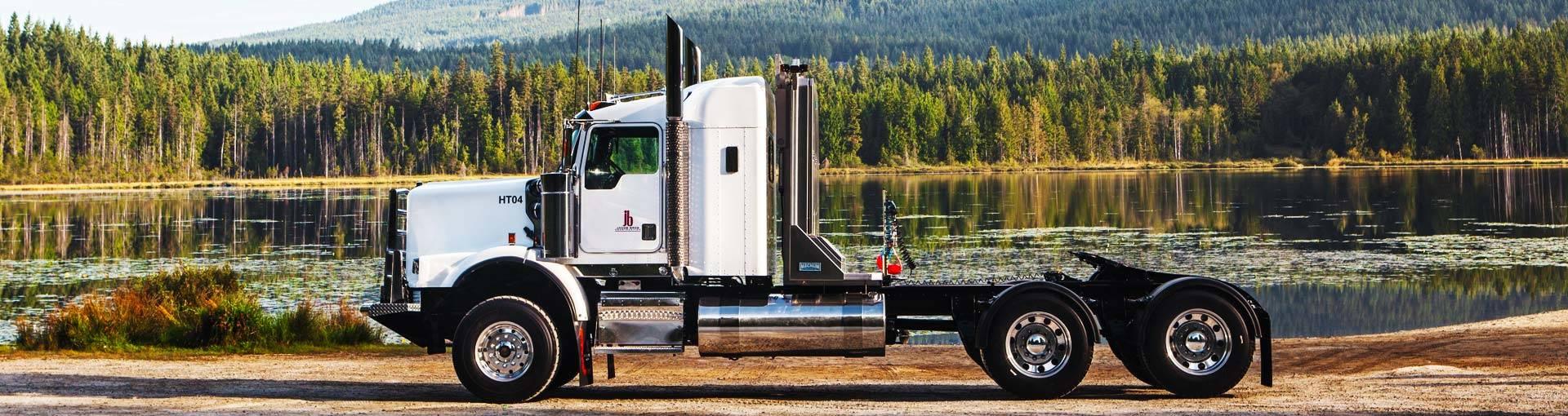 semi truck customs in bc