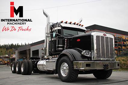used Peterbilt heavy haul trucks for sale in BC