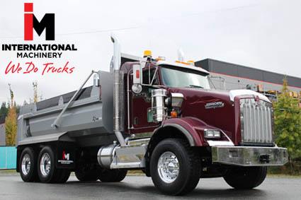 Dump trucks in Bakersfield California